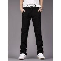 Модные мужские брюки в корейском стиле