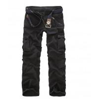 Мужские повседневные камуфляжные брюки с большими карманами 7 цветов