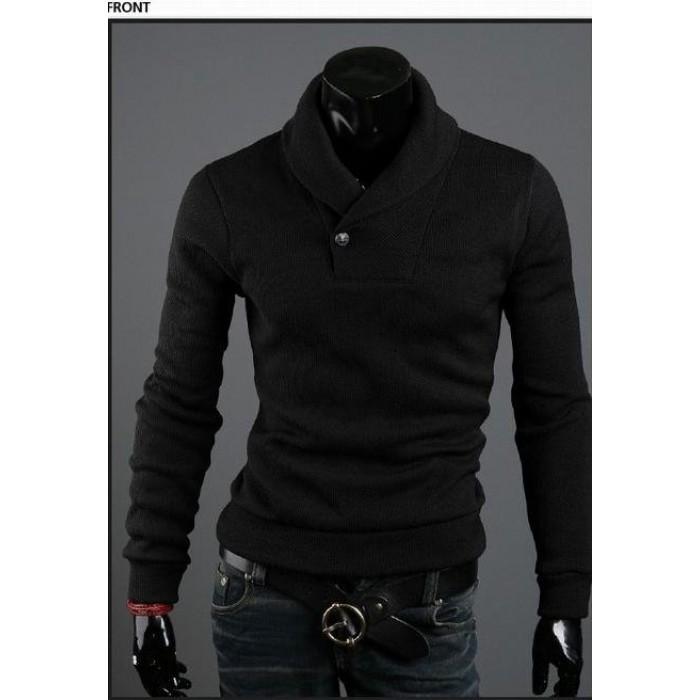 a36cf06b87e09 Высококачественный стильный мужской свитер корейском стиле