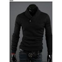 Высококачественный стильный мужской свитер корейском стиле