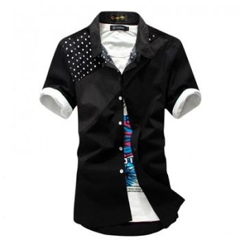 Модная мужская рубашка в молодежном стиле
