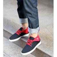 Модные мужские удобные холщовые кроссовки в стиле casual