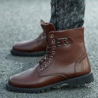 Высокие модные легкие ботинки по лодыжки