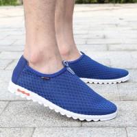 Дышащие мужские спортивные открытые кроссовки