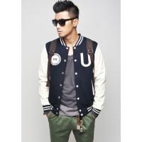 Модная мужская бейсбольная куртка (жакет)