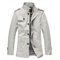 Модное мужское пальто высокого качества, 5 цветов